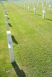Cimitero americano Immagini Stock Libere da Diritti