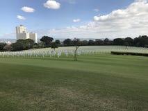 Cimitero americano a Manila Immagini Stock Libere da Diritti
