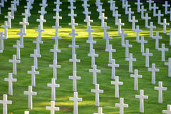 Cimitero americano in rance 05 Fotografie Stock Libere da Diritti