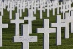 Cimitero americano in St James Immagini Stock Libere da Diritti