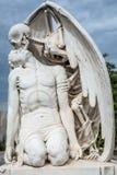 Cimitero a Barcellona fotografia stock libera da diritti