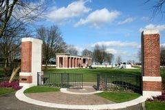 Cimitero canadese Groesbeek di guerra Fotografie Stock Libere da Diritti