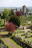 Cimitero, castello di stirling Immagini Stock Libere da Diritti