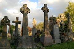 Cimitero celtico Immagini Stock Libere da Diritti