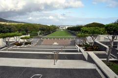 Cimitero commemorativo nazionale di Pacifico Fotografie Stock Libere da Diritti