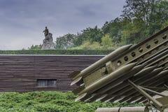 Cimitero dei soldati sovietici - Seelow Immagini Stock Libere da Diritti