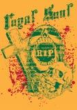 Cimitero del cranio Fotografia Stock Libera da Diritti