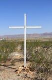 Cimitero del deserto Fotografia Stock