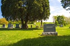 Cimitero del paese Immagini Stock Libere da Diritti