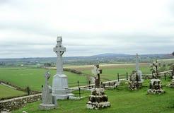 Cimitero del paese Immagini Stock