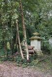 Cimitero del parco di Abney Fotografia Stock Libera da Diritti
