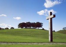 Cimitero del terreno boscoso, Stoccolma Patrimonio mondiale dell'Unesco Immagine Stock Libera da Diritti