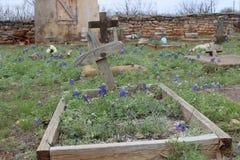 Cimitero del Texas Fotografie Stock