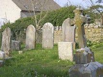 Cimitero del villaggio fotografia stock libera da diritti