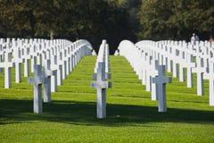 Cimitero dell'americano della Normandia fotografia stock libera da diritti
