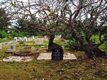 Cimitero della campagna Fotografie Stock Libere da Diritti