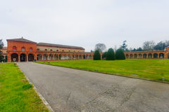 Cimitero della Certosa, Ferrara Royaltyfri Fotografi