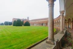 Cimitero della Certosa, Ferrara Royaltyfri Bild