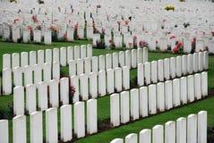 Cimitero della culla del Tyne Fotografia Stock
