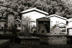 Cimitero della montagna Fotografia Stock Libera da Diritti