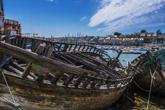 Cimitero della nave Fotografie Stock Libere da Diritti