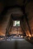Cimitero delle Fontanelle, Fontanel cemetery, old tufa quarry co Stock Image
