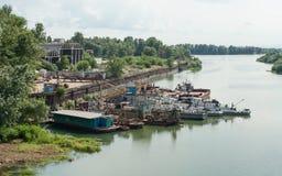 Cimitero delle navi Fotografia Stock Libera da Diritti