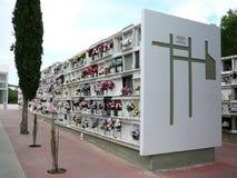 Cimitero di Alora, Andalusia Fotografie Stock