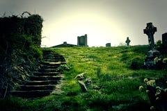 Cimitero di Ardmore immagine stock libera da diritti