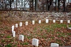 Cimitero di bluff della sfera Fotografie Stock Libere da Diritti