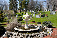 Cimitero di Cataraqui - Kingston - Canada fotografia stock