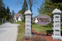 Cimitero di Cataraqui - Kingston - Canada immagini stock