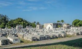 Cimitero di Columbus del cimitero dei due punti fotografia stock