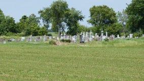 Cimitero di estate Immagini Stock Libere da Diritti