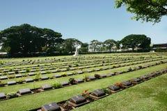 Cimitero di guerra Immagine Stock