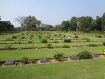 Cimitero 6 di guerra Fotografia Stock Libera da Diritti