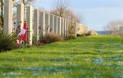 Cimitero di guerra Immagine Stock Libera da Diritti
