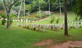 Cimitero di guerra del commonwealth, Sri Lanka fotografie stock libere da diritti