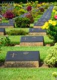 Cimitero di guerra mondiale 2 Immagini Stock