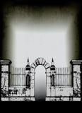 Cimitero di Halloween Fotografia Stock Libera da Diritti