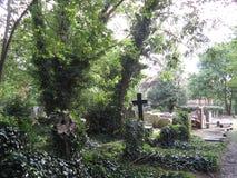 Cimitero di Highgate, Regno Unito Fotografia Stock