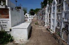 Cimitero di Mompox Immagini Stock Libere da Diritti