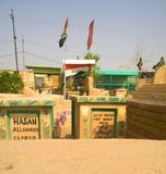 Cimitero di Najaf fotografia stock libera da diritti