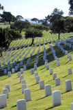 Cimitero di nazione di Rosecrans della fortificazione Immagine Stock
