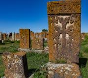Cimitero di Noratus Immagini Stock