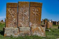 Cimitero di Noratus Fotografia Stock Libera da Diritti
