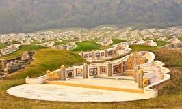 Cimitero di pace Immagine Stock