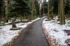 Cimitero di Poppelsdrof immagine stock