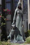 Cimitero di Recoleta - Buenos Aires Fotografia Stock