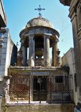 Cimitero di Recoleta della La - vecchio mausoleo della possibilità remota Fotografie Stock Libere da Diritti